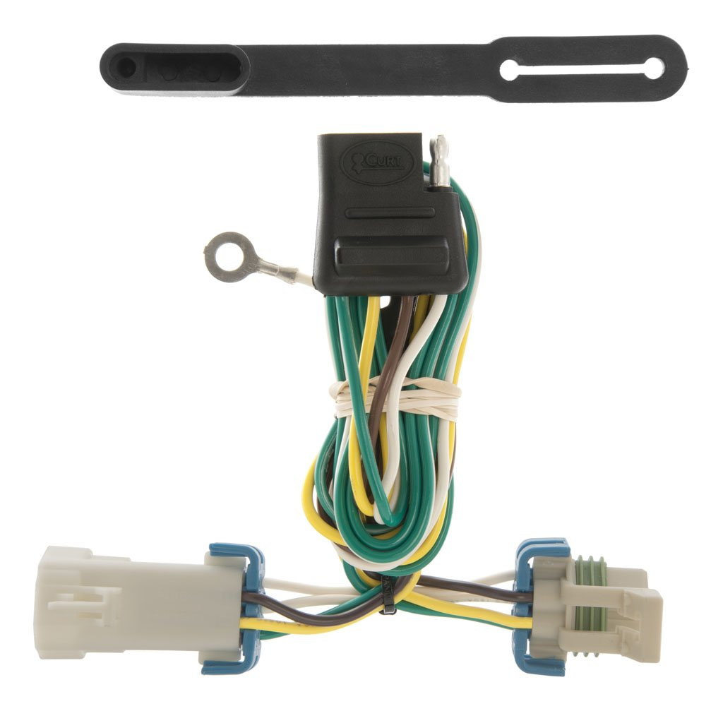 Trailer Wiring Harness Plug Covers : Curt manufacturing custom vehicle to trailer wiring