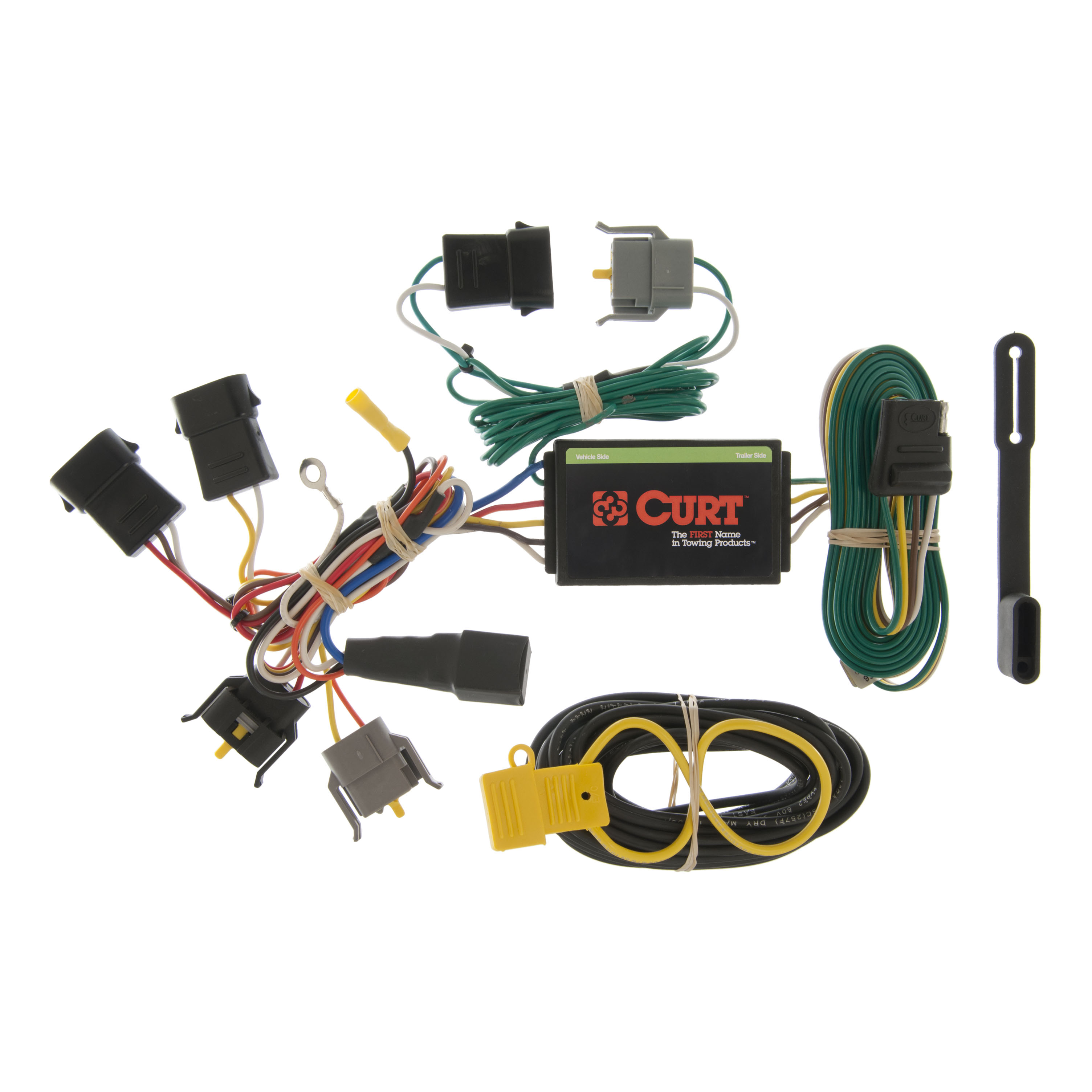 CURT Custom Vehicle-to-Trailer Wiring Harness 55366 for 1999-2003 Ford  Windstar