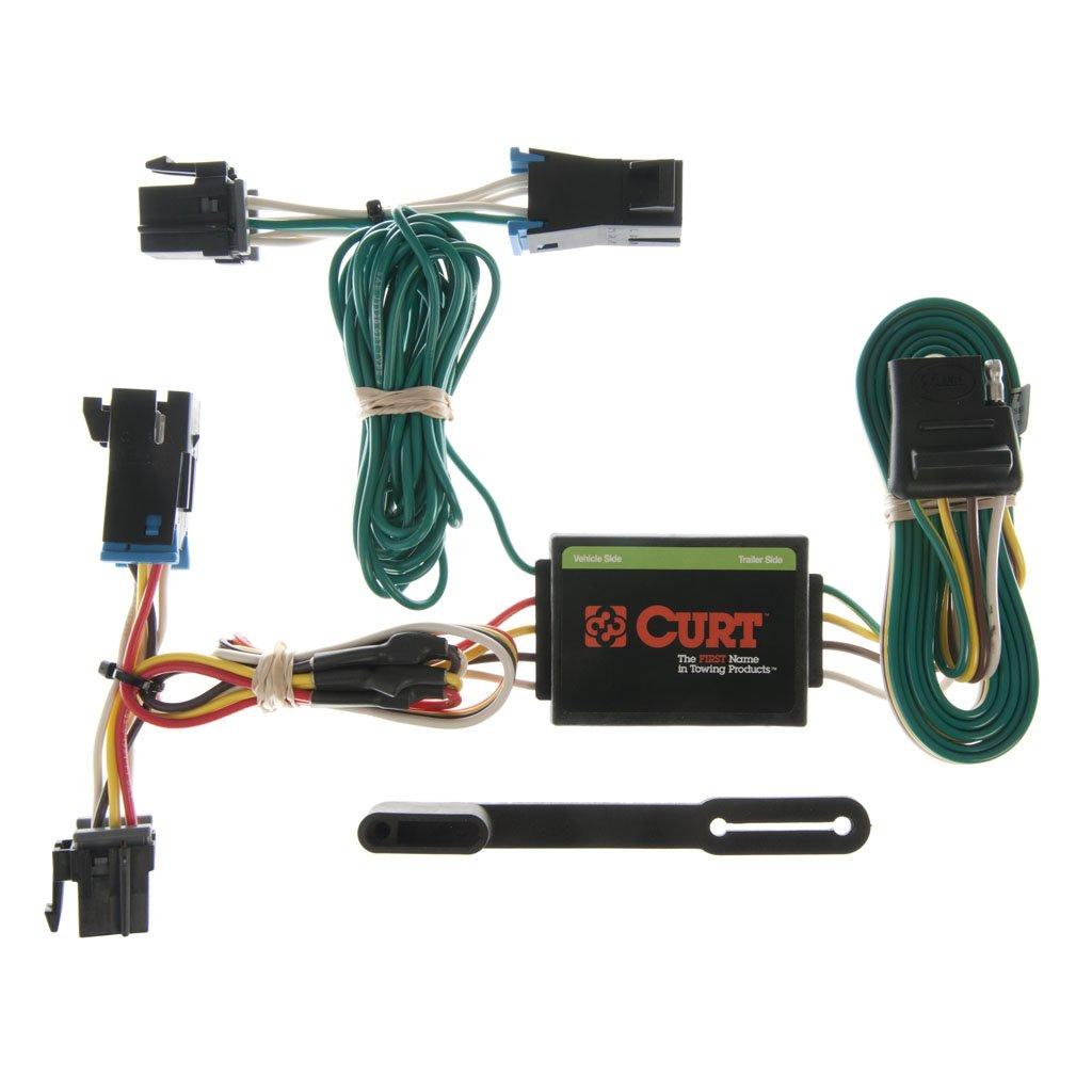 curt manufacturing curt custom wiring harness 55377 Ford Trailer Brake Wiring Diagram curt trailer wiring chevrolet express van  #21 Curt T-Connector Wiring Kit