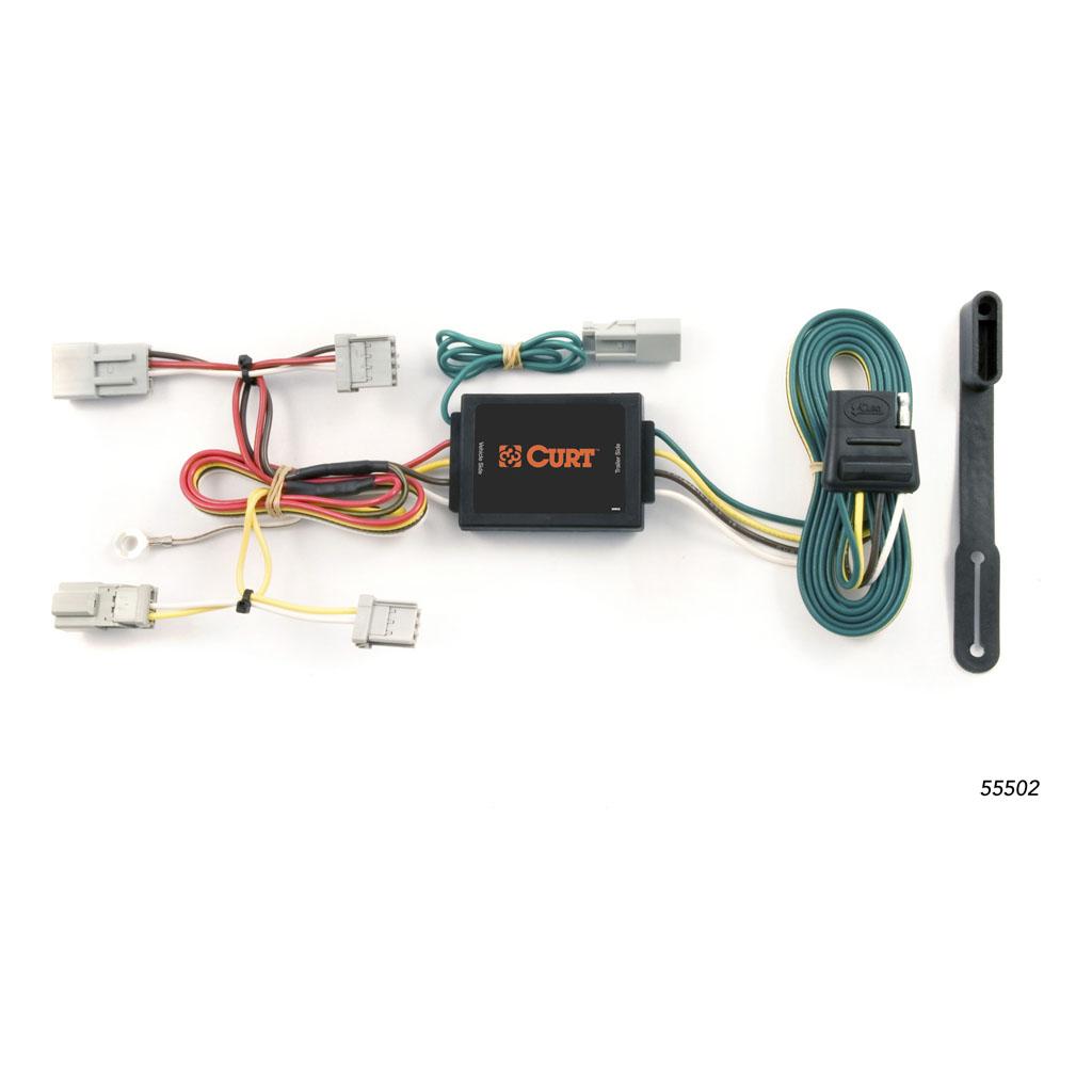 curt manufacturing curt custom wiring harness 55502