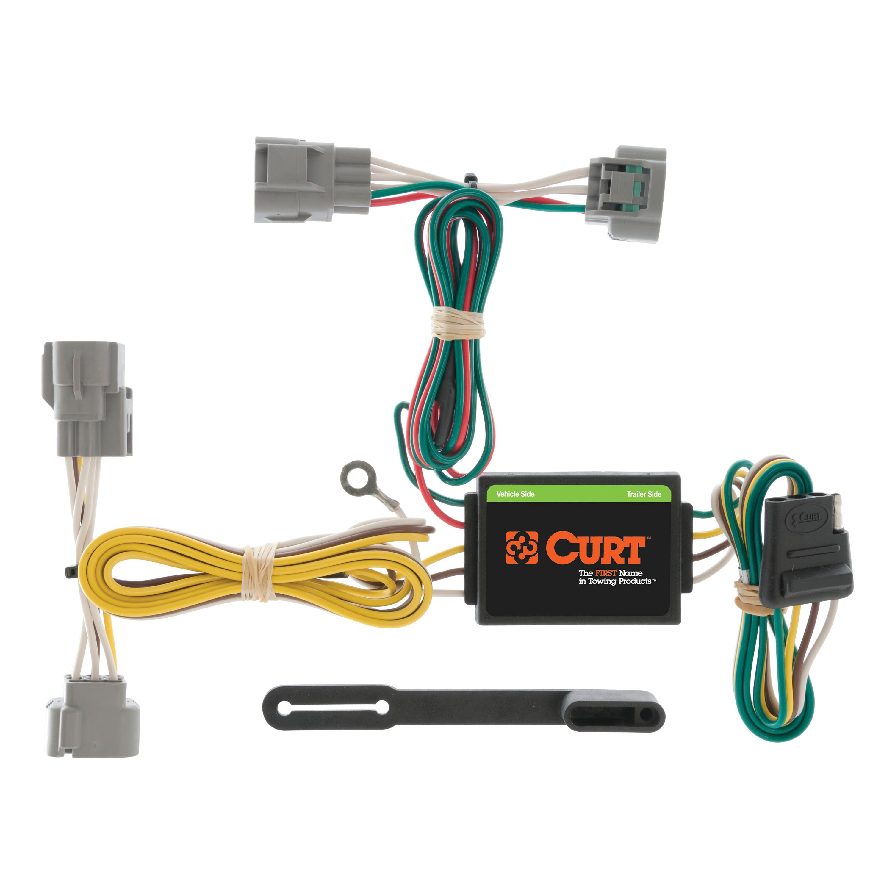 Curt vehicle to trailer wiring harness for toyota