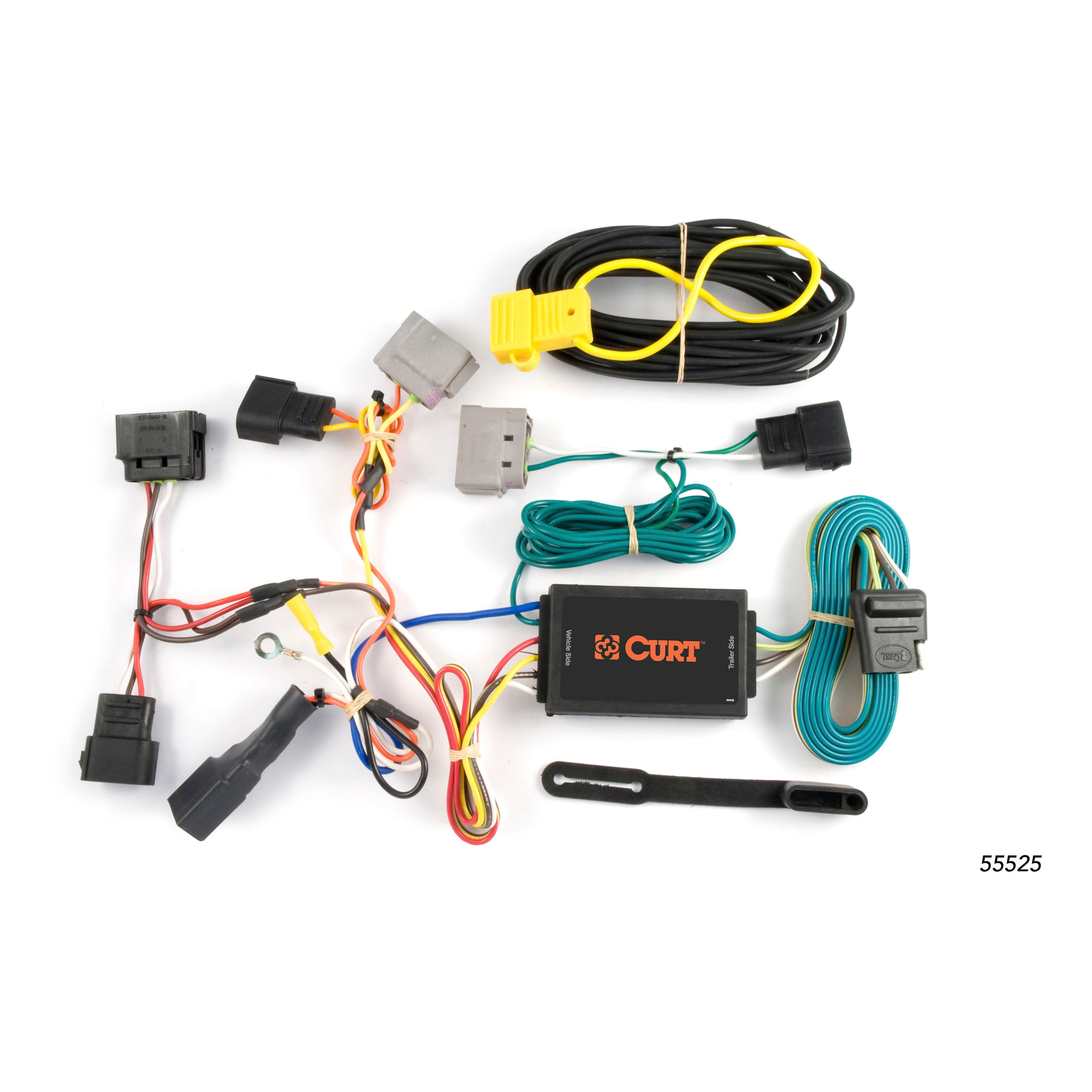 curt custom vehicle to trailer wiring harness 55525 for 2003 ford curt custom vehicle to trailer wiring harness 55525 for 2003 ford windstar