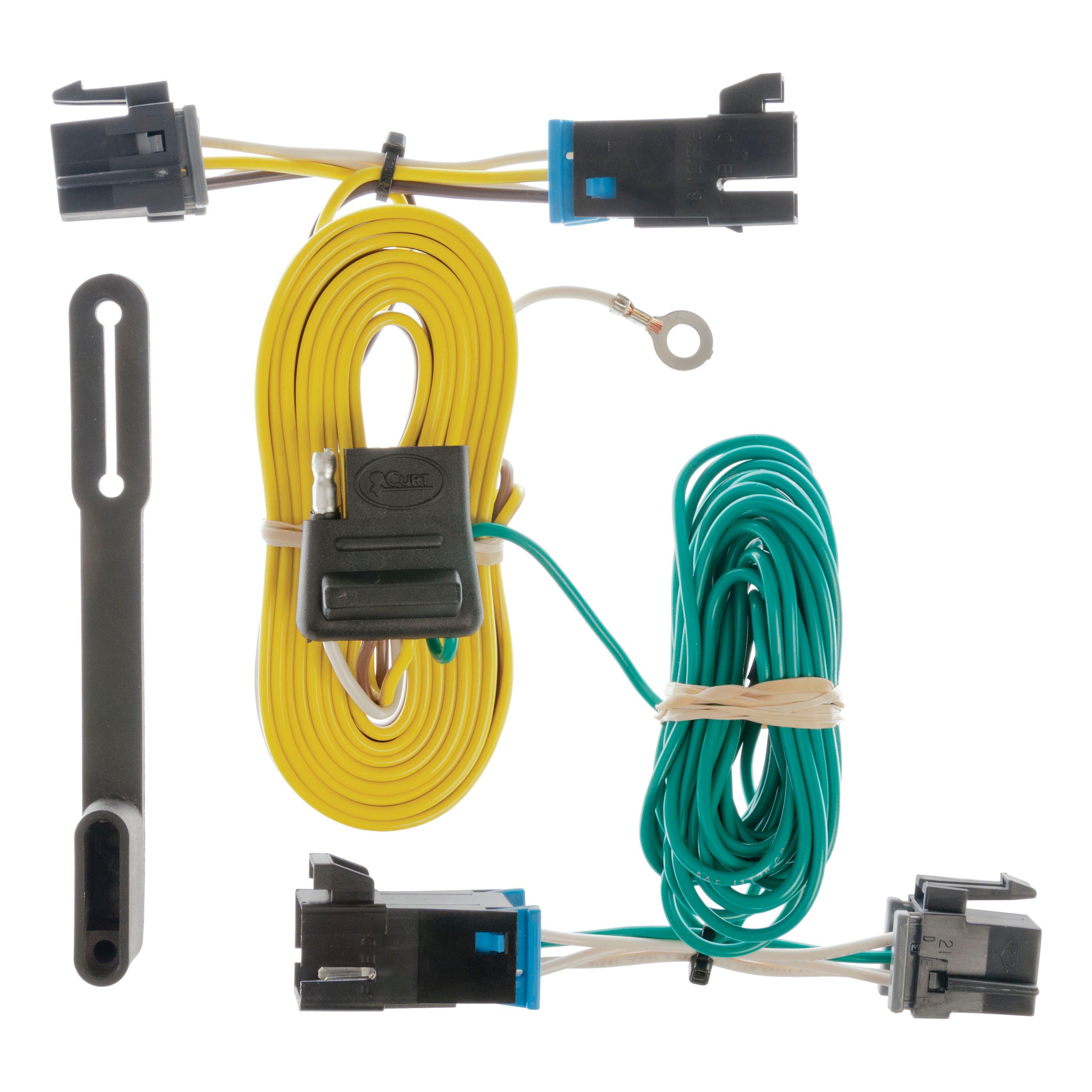 curt 55540 vehicle to trailer wiring harness for chevrolet express gmc savana ebay