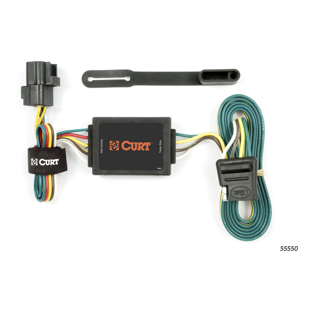 curt manufacturing curt custom wiring connector 55550. Black Bedroom Furniture Sets. Home Design Ideas