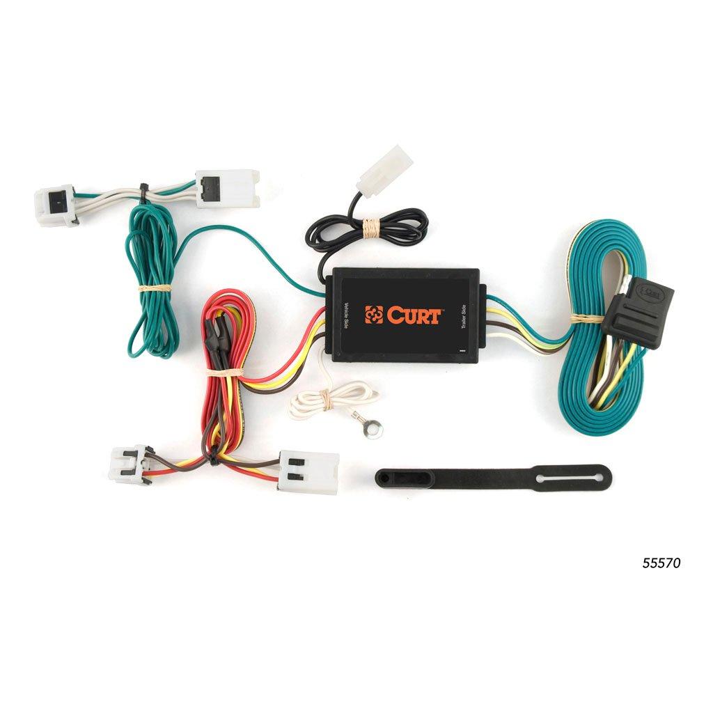 curt manufacturing curt custom wiring harness 55570