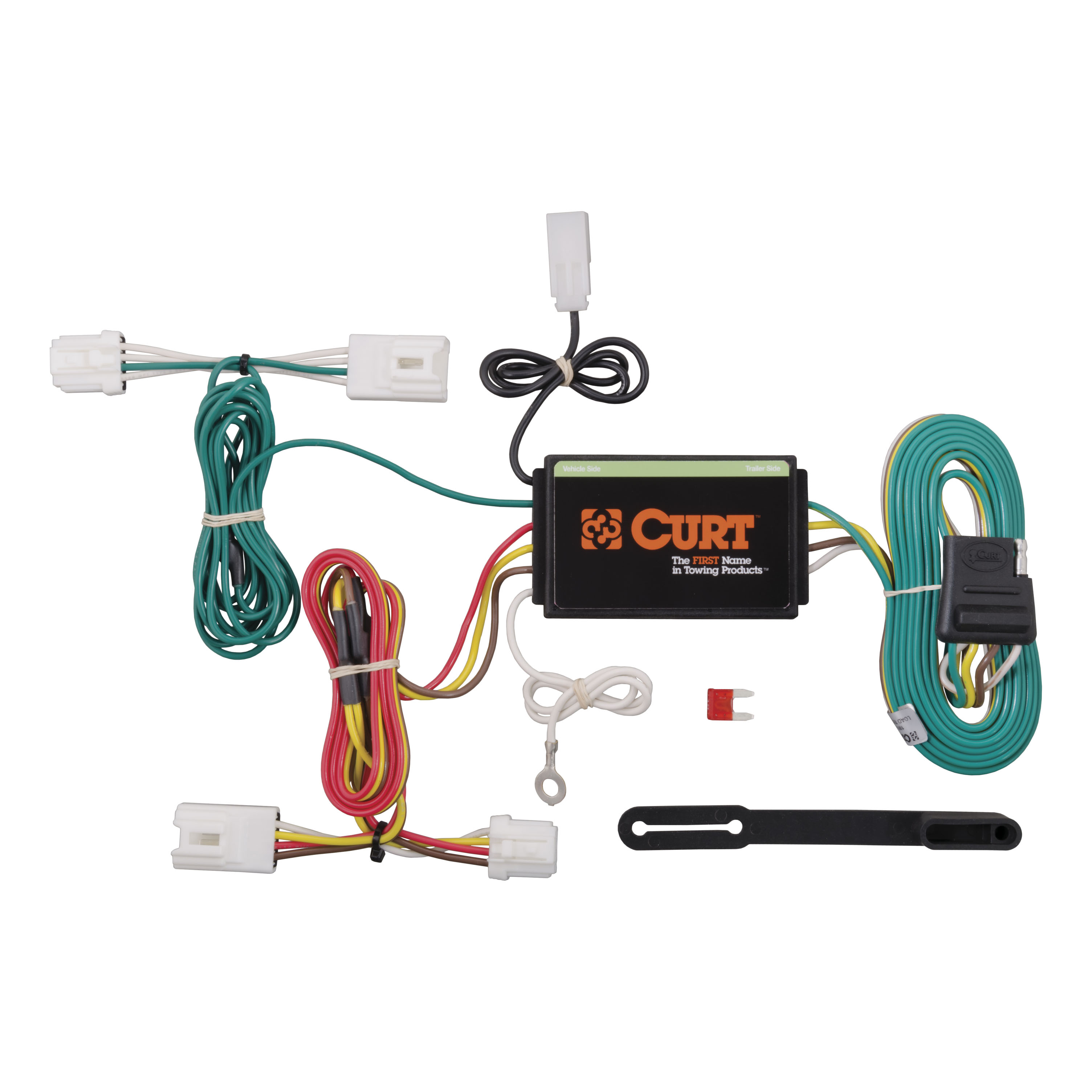 CURT Custom Vehicle-to-Trailer Wiring Harness 55571 for 2003-2014 Nissan  Murano
