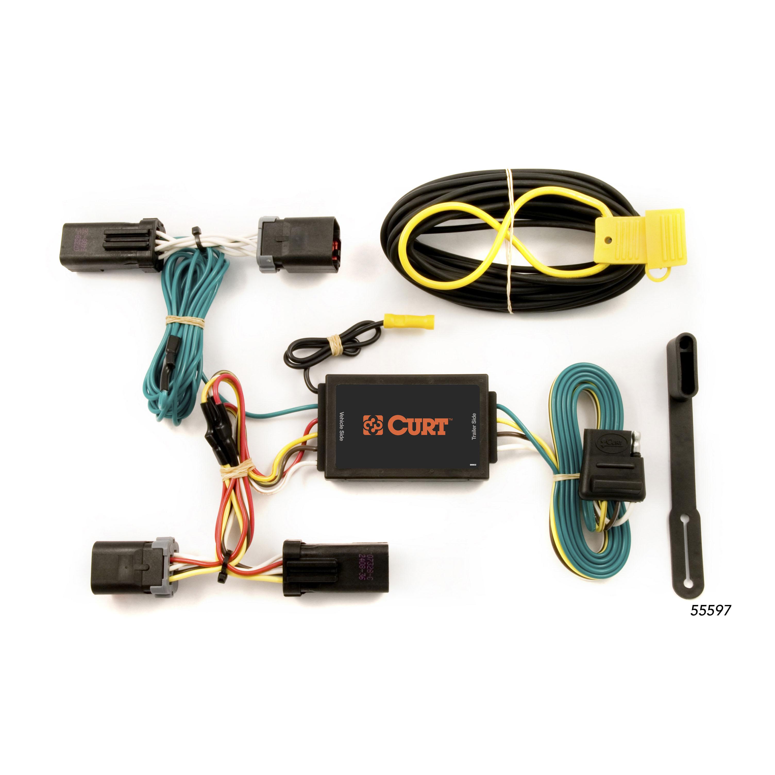 curt 55597 wiring harness for 2007 2009 chrysler aspen 2004 2009 rh ebay com