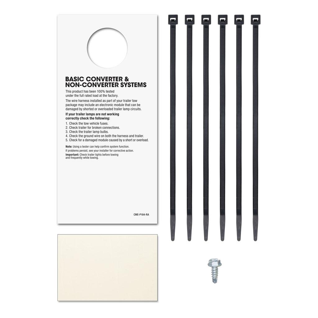 curt manufacturing curt custom wiring harness  part 56013 a part 56013 b