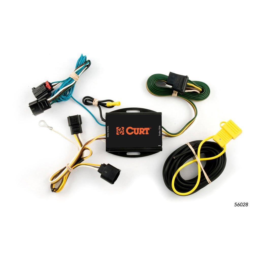 curt manufacturing curt custom wiring harness 56028