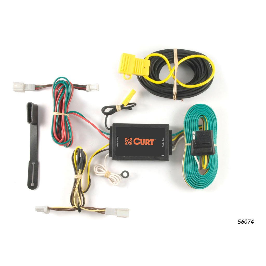 Curt Trailer Hitch Wiring Kit 20062012 Toyota Rav4 T Connector Harness 56165 Manufacturing Custom 56074rh