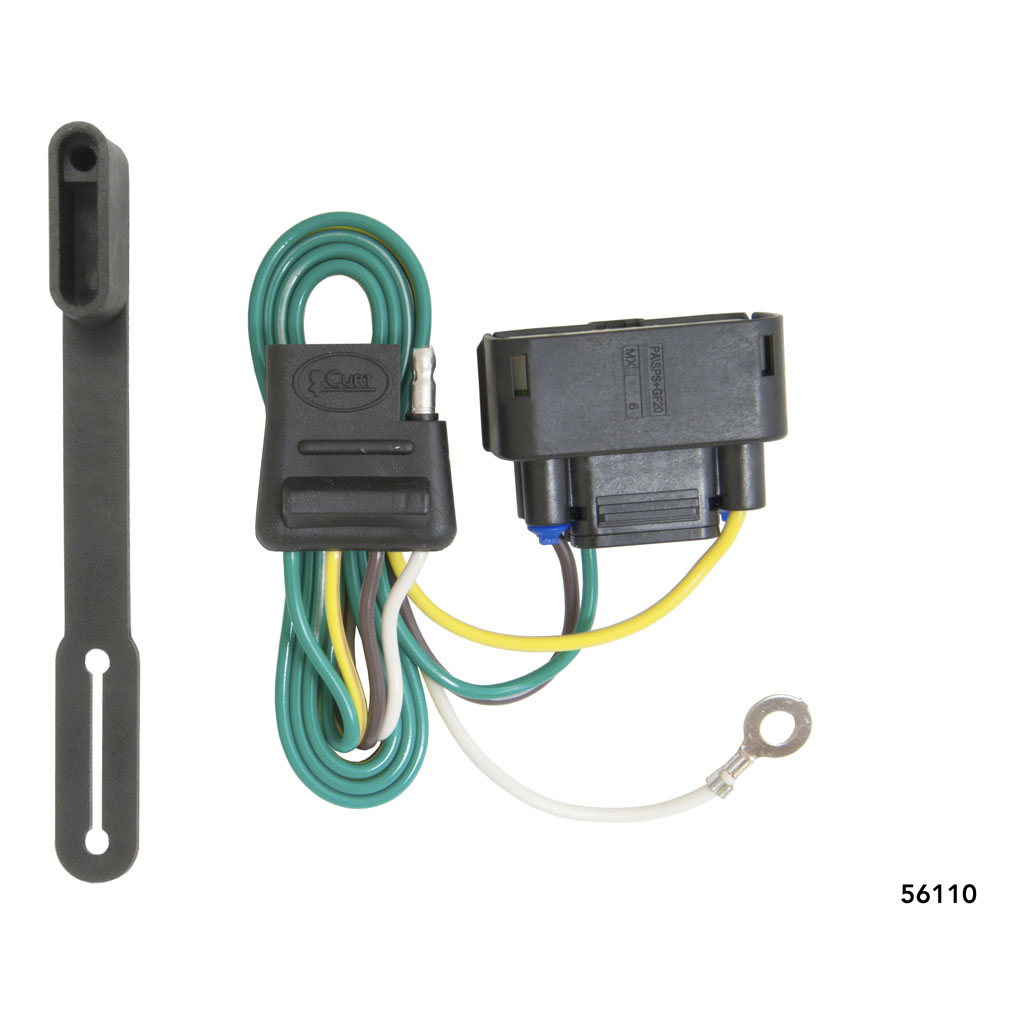 curt manufacturing curt custom wiring connector 56110