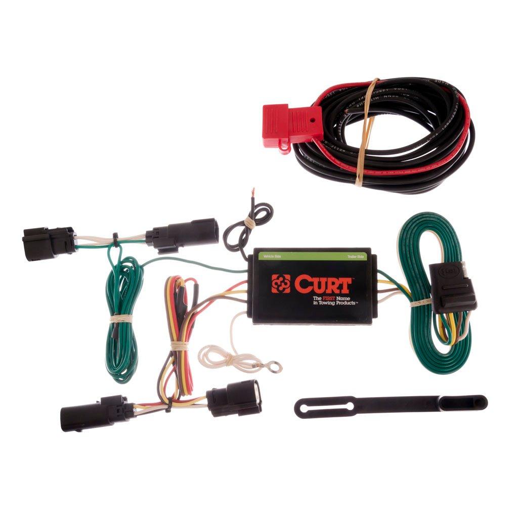 curt manufacturing curt custom wiring harness 56164. Black Bedroom Furniture Sets. Home Design Ideas