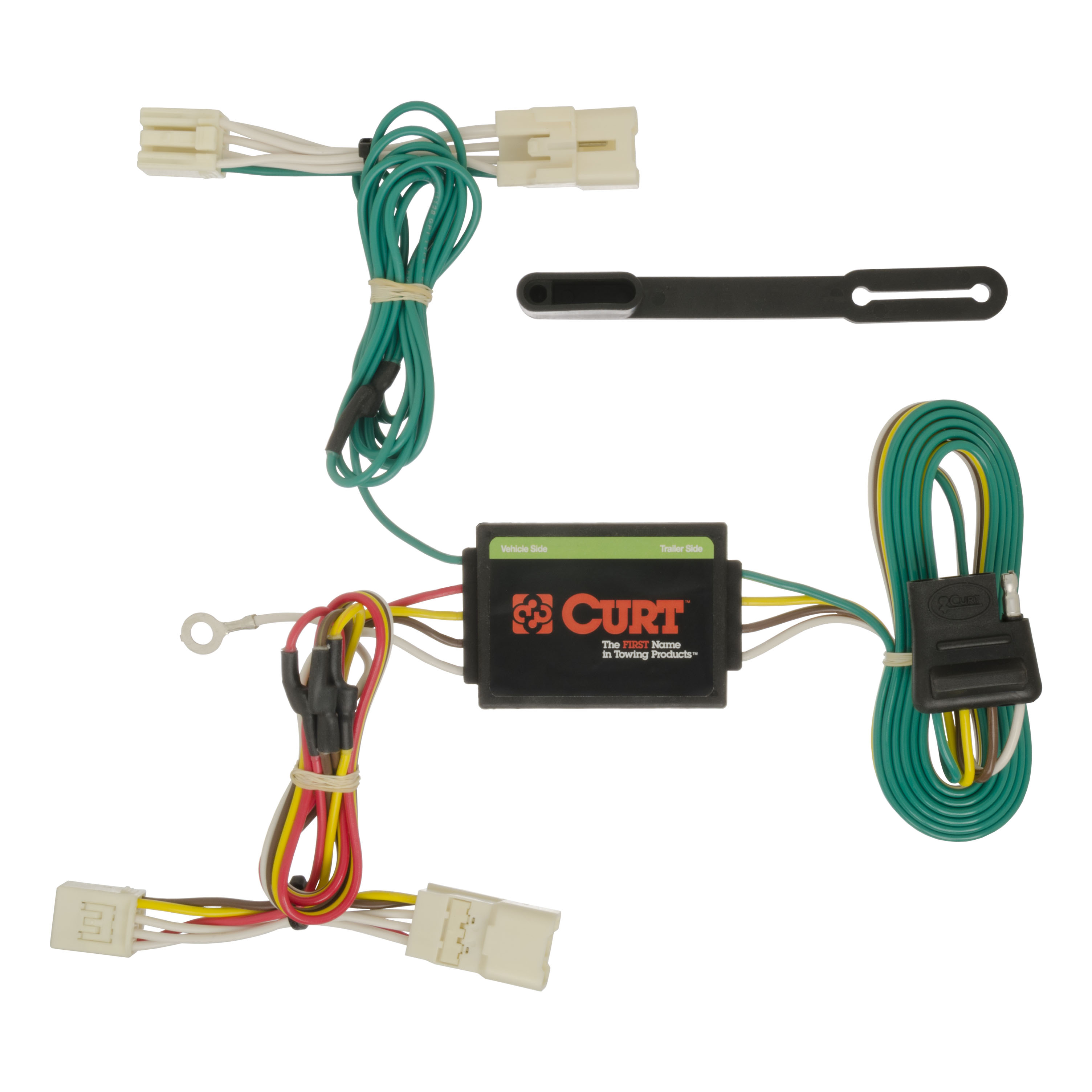 curt vehicle to trailer wiring harness 56186 for 2014 2016 kia forte rh ebay com 2013 kia sorento trailer wiring harness kia sportage trailer wiring harness