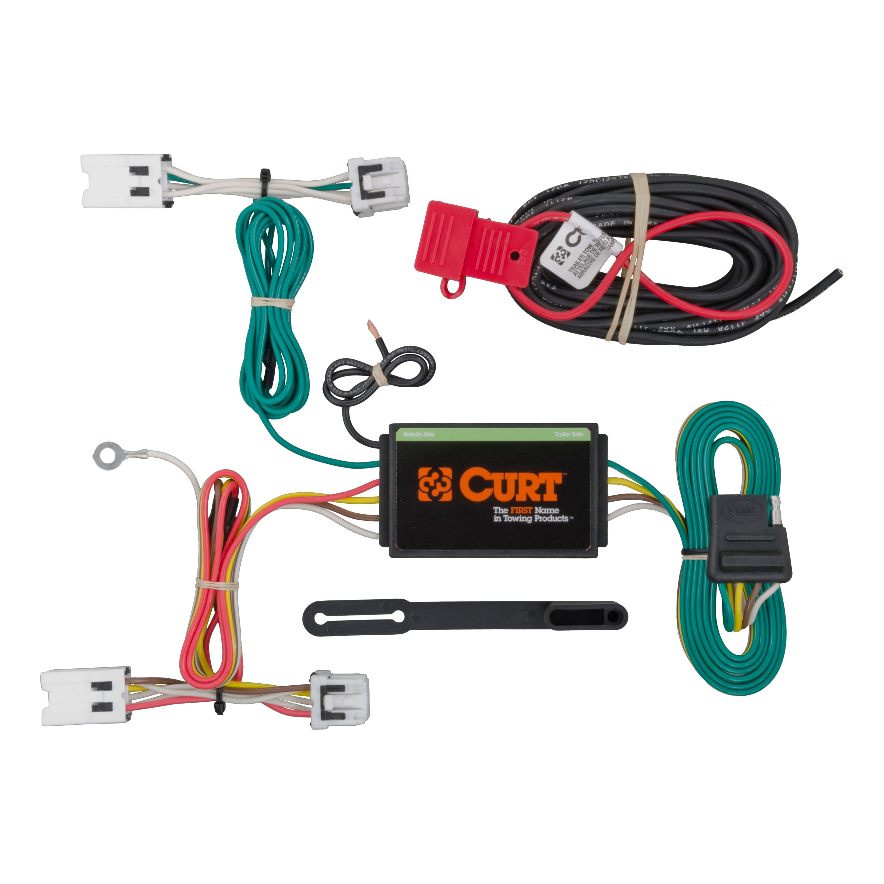 Curt Custom Vehicle To Trailer Wiring Harness 56205 For 2013 2016 Image Is Loading