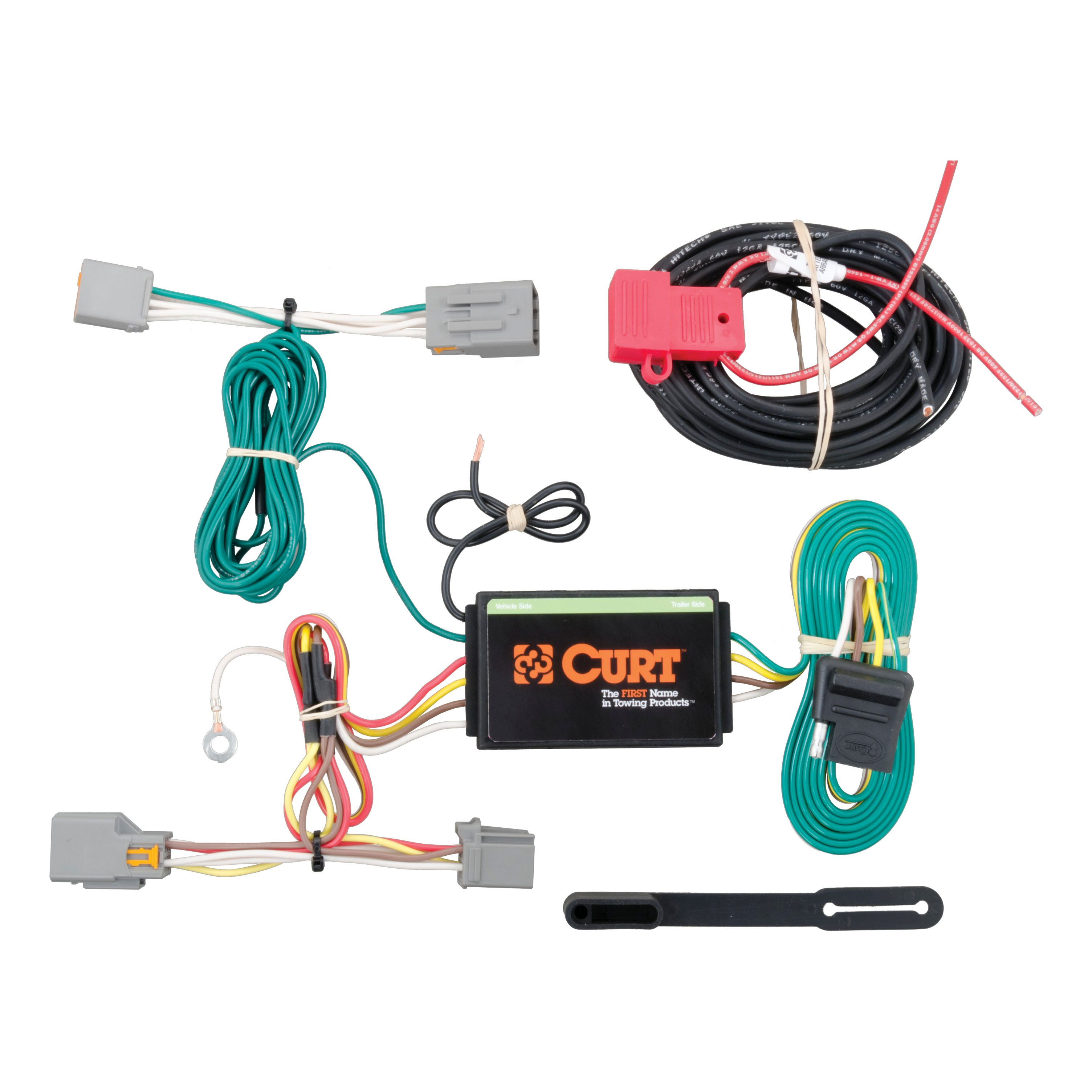 CURT Vehicle-to-Trailer Wiring Harness 56218 for 14-16 Ford Transit ...