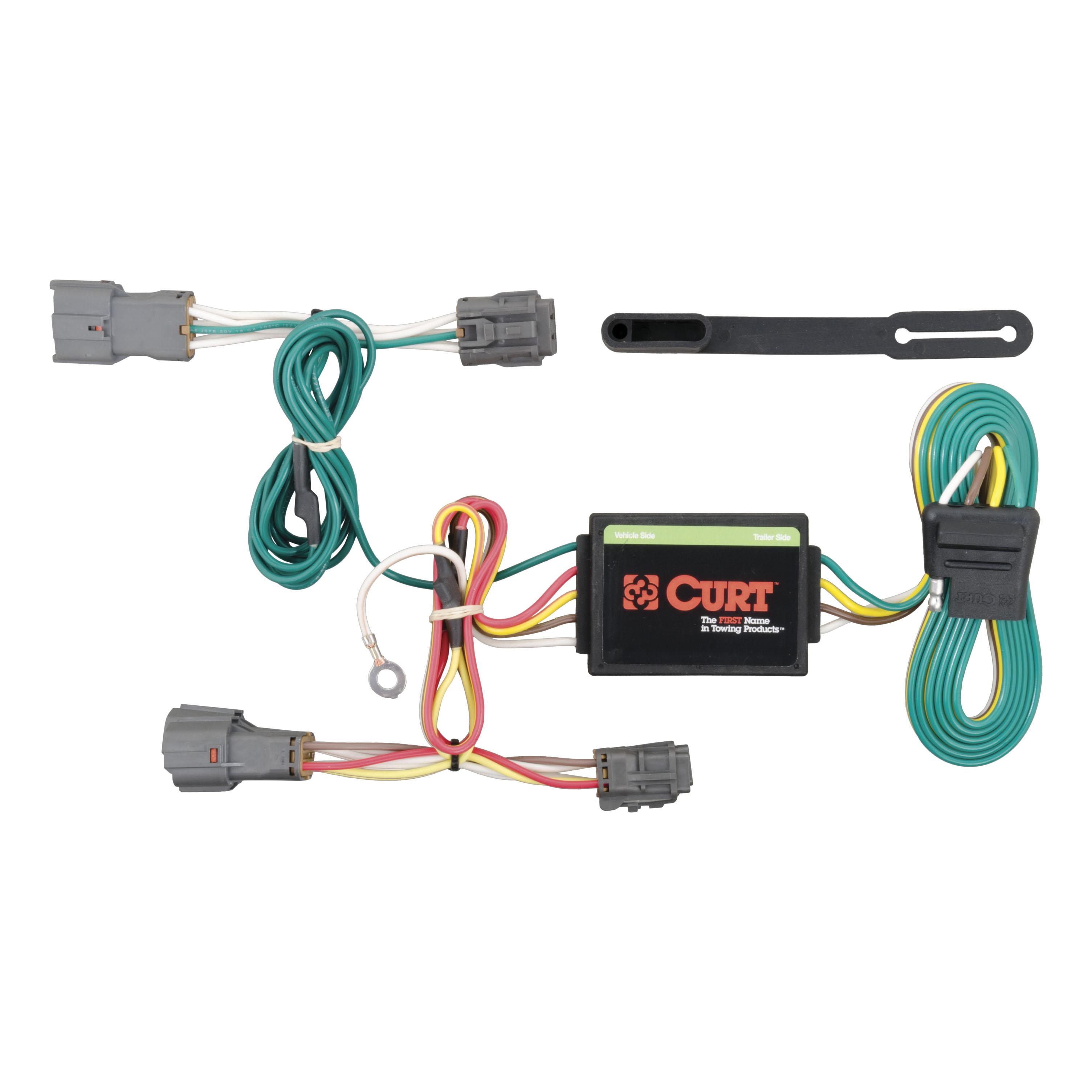 curt vehicle to trailer wiring harness 56222 for kia rondo, soul ebay harley-davidson trailer wiring harness curt vehicle to trailer wiring harness 56222 for kia rondo, soul