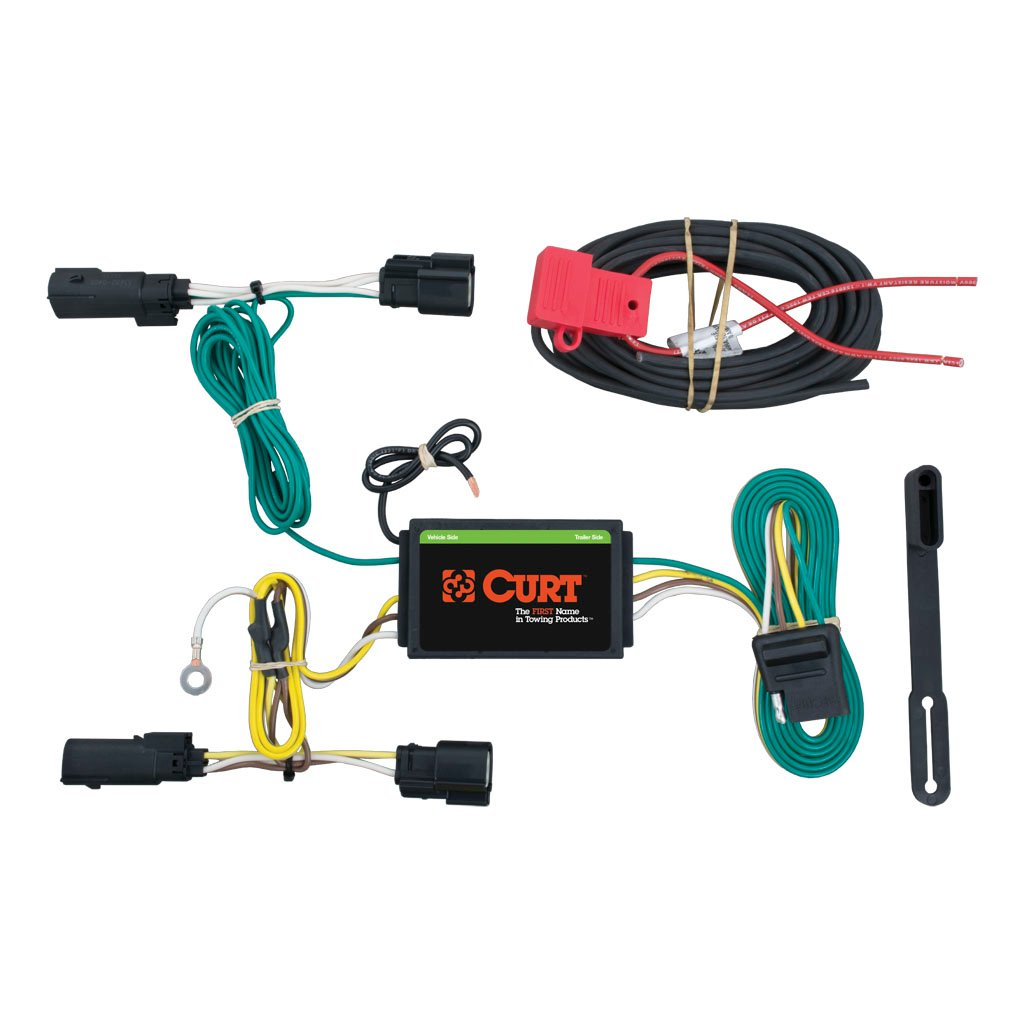 Curt Trailer Plug Wiring Diagram : Curt class trailer hitch wiring for ford transit