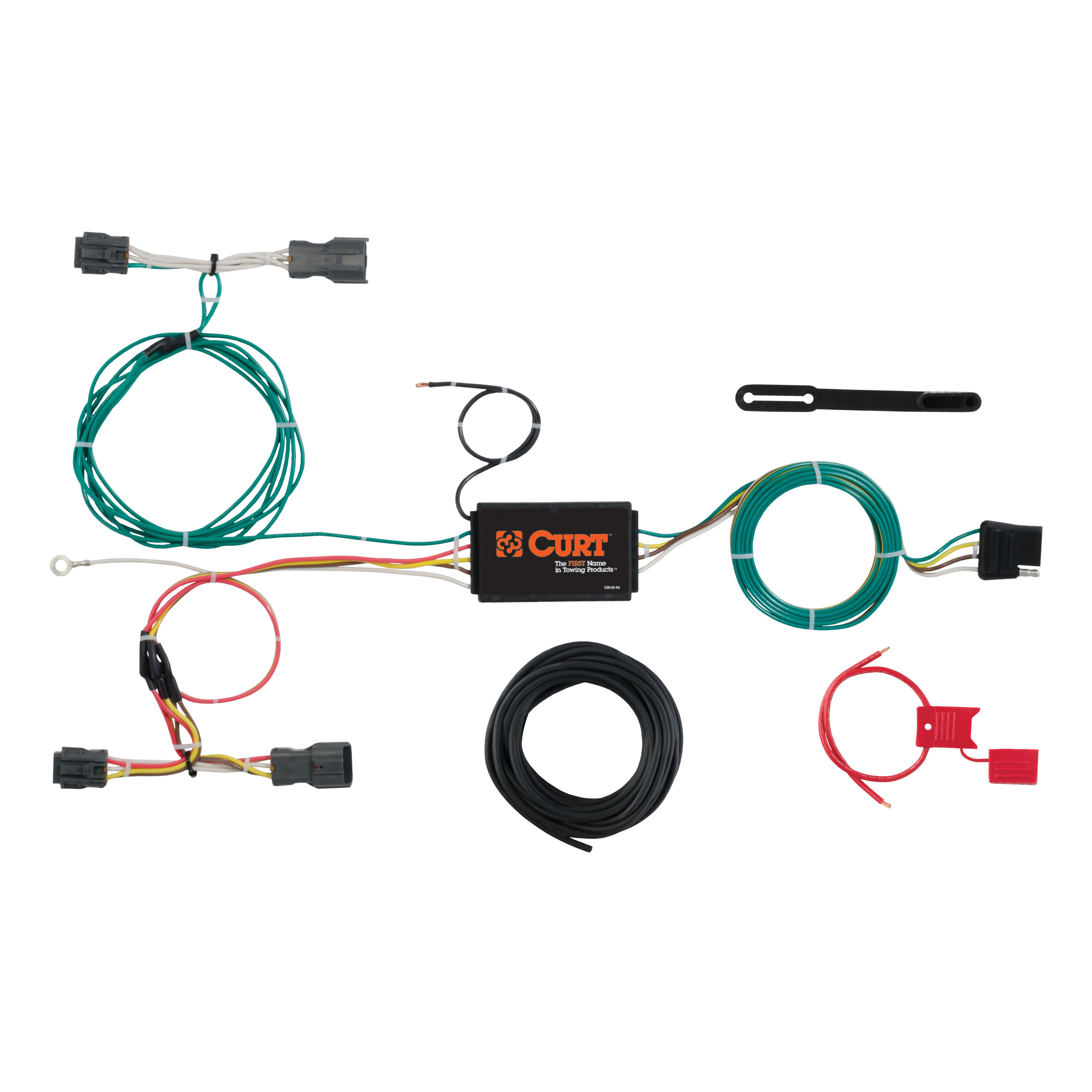 CURT Custom Vehicle-to-Trailer Wiring Harness 56277 For