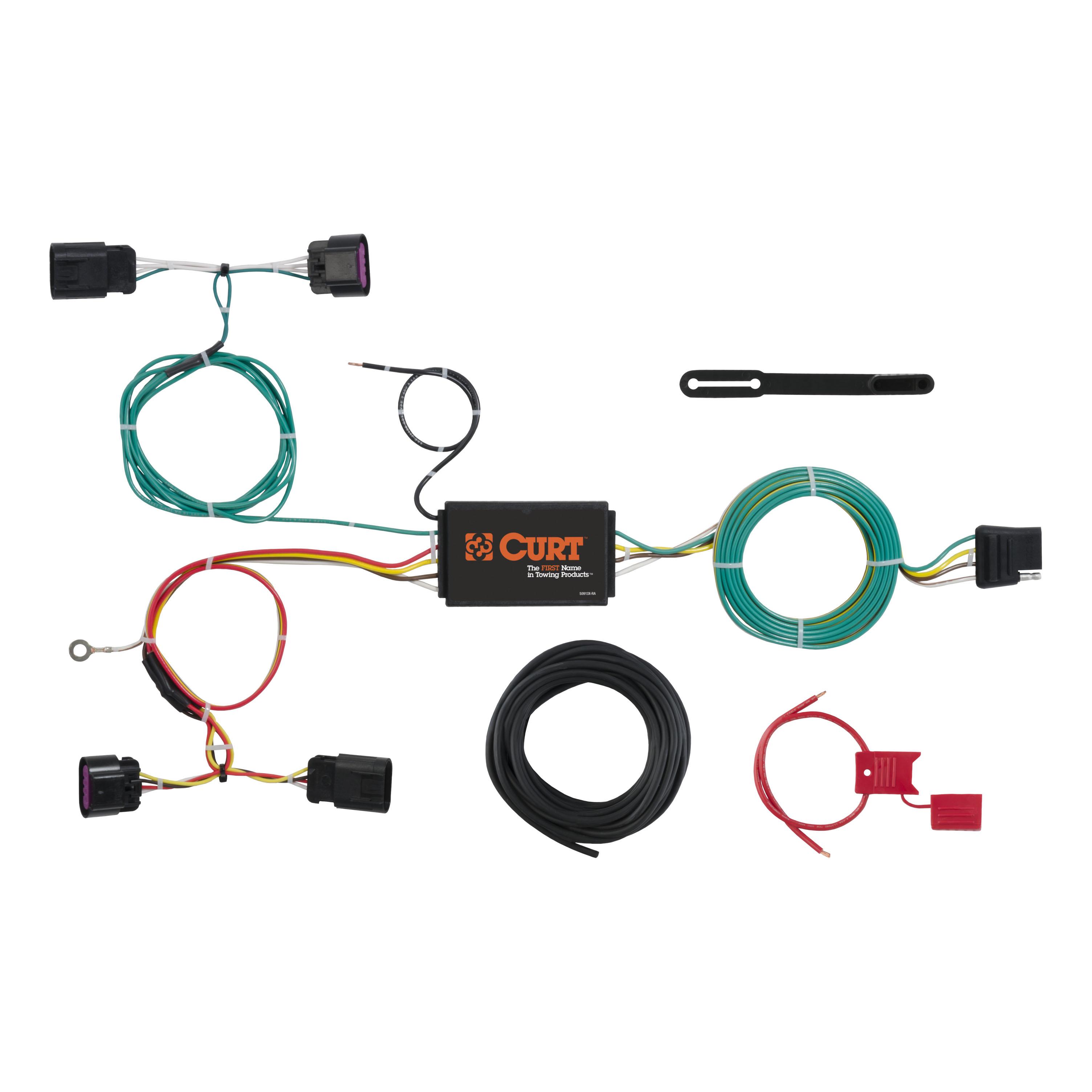 CURT Custom Vehicle-to-Trailer Wiring Harness 56288 for 2012-2016 Buick  Verano   eBayeBay