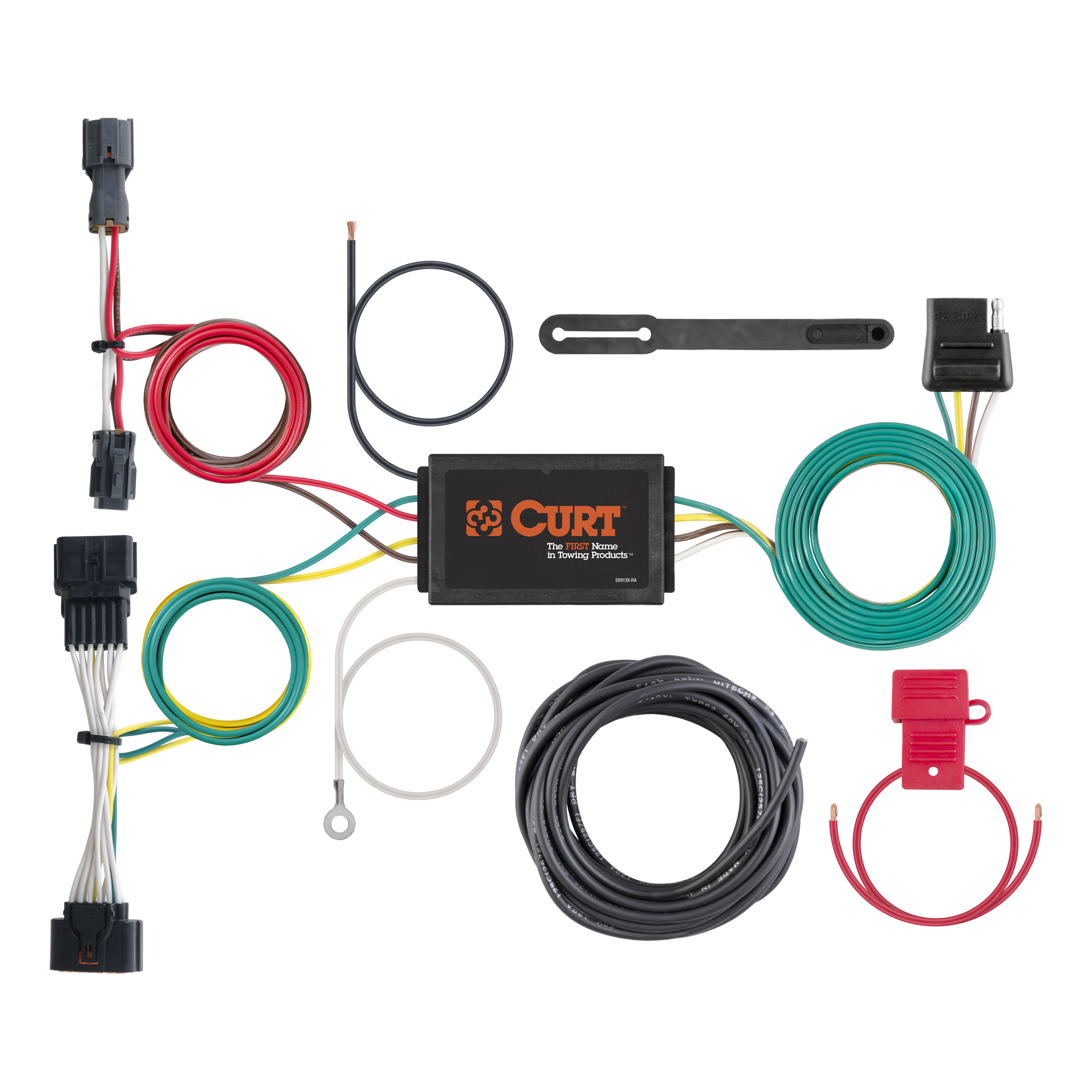 curt 56321 custom wiring harness for 17 kia sportage ebay 2000 kia sportage wiring harness image is loading curt 56321 custom wiring harness for 17 kia