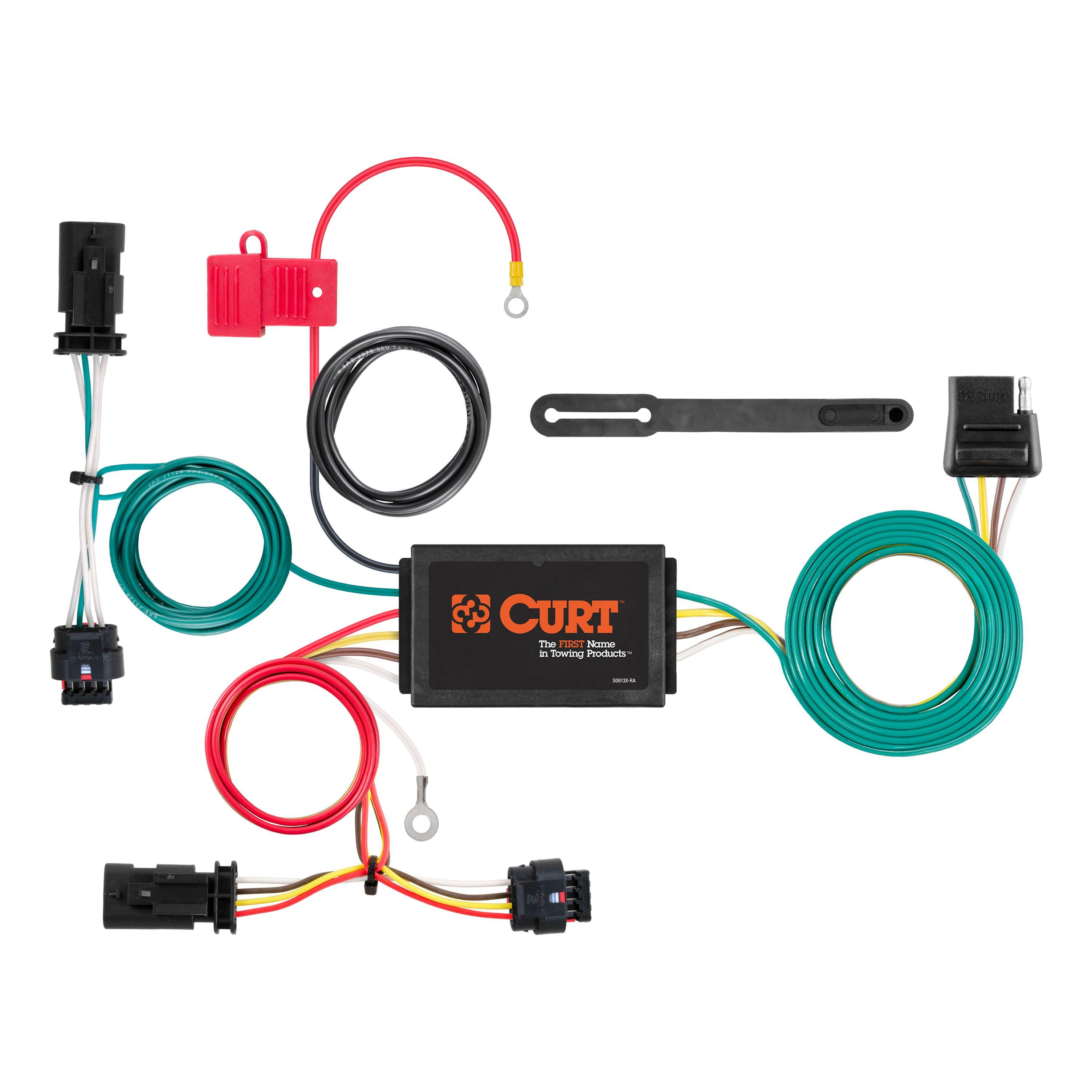 56354_3008x1990_a curt custom wiring harness 56360 curt hitch wiring harness Curt 7 Pin Wiring Harness at bayanpartner.co