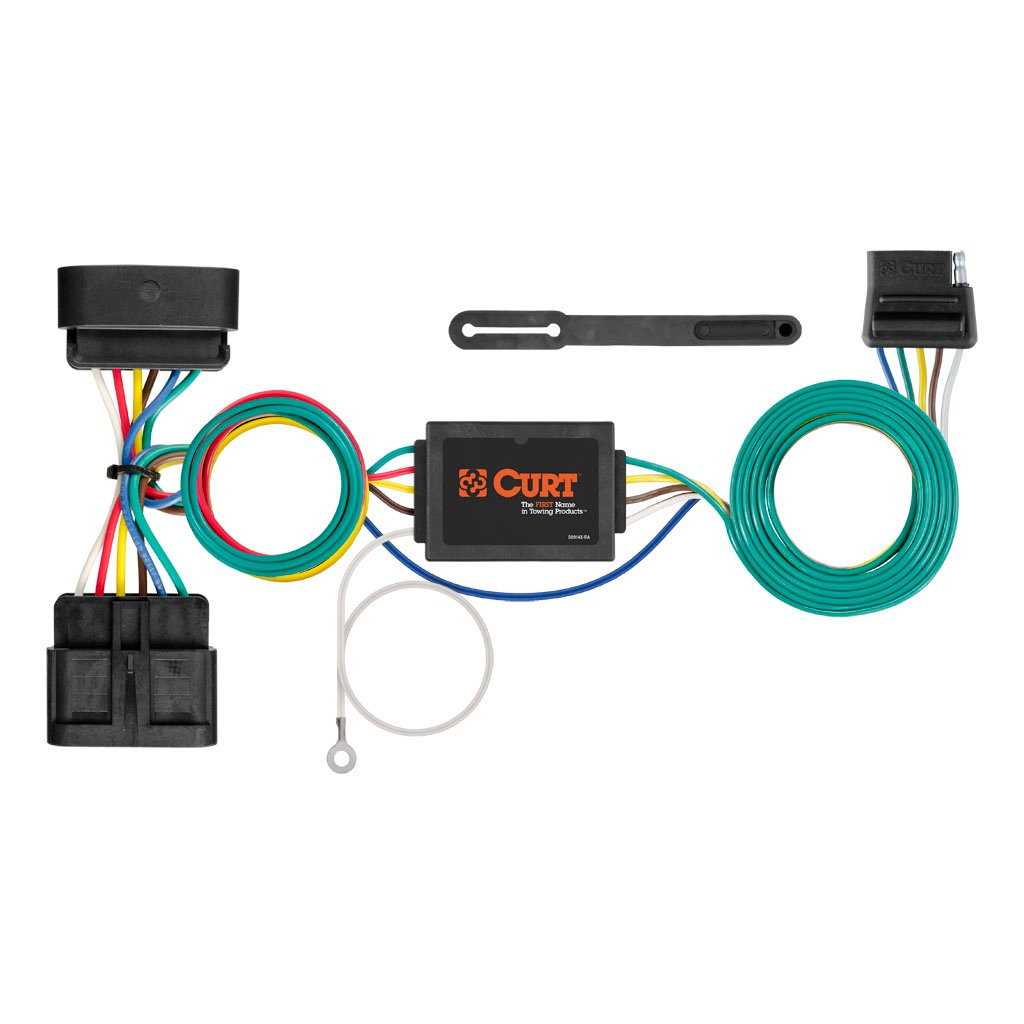 Trailer Wiring Harness For 2011 Gmc Canyon 42 Diagram 20042012 Curt T Connector 55510 56510 1024x768 A Manufacturing Custom Adapter At