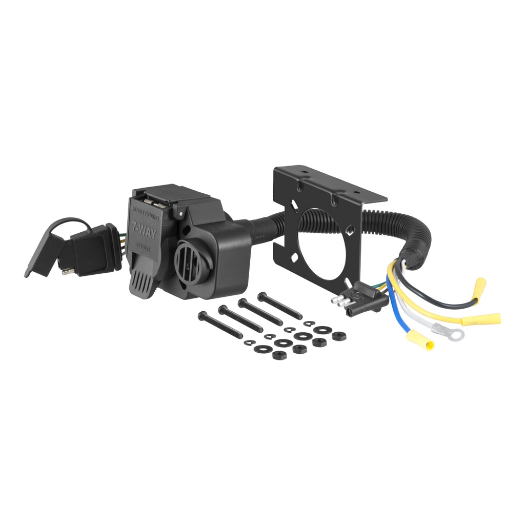 Curt Manufacturing 57102 Trailer Wiring Adapter Connector Manual Guide