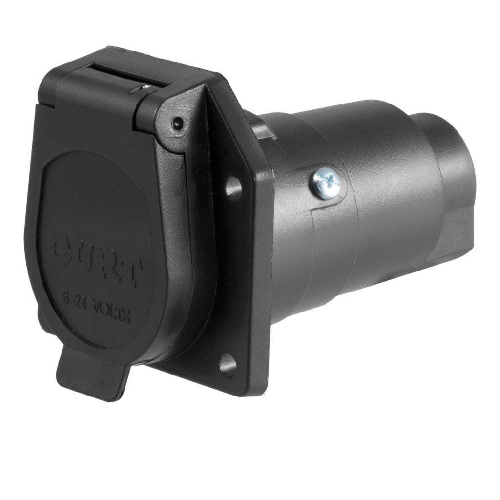 CURT Manufacturing CURT 7 Way Round RV Blade Wiring