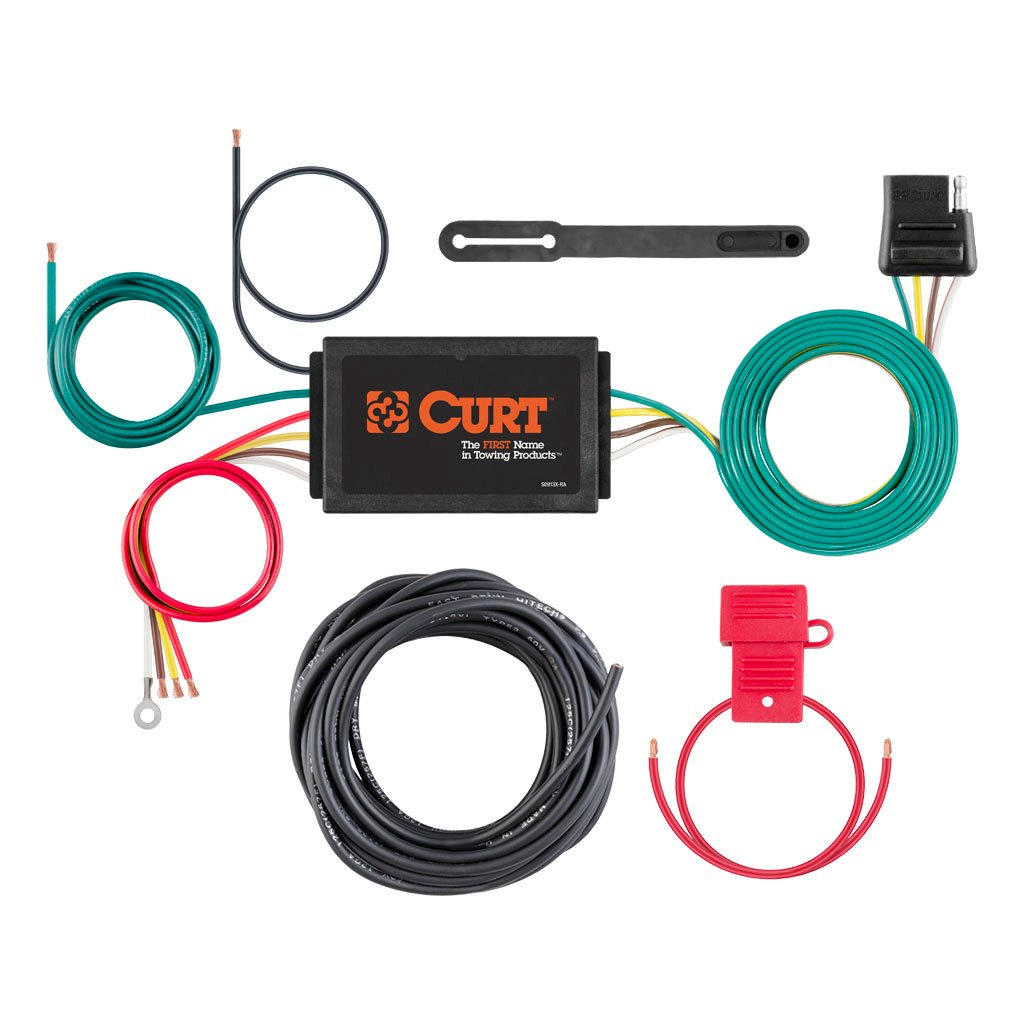 CURT Manufacturing - CURT Powered 3-to-2-Wire Taillight Converter ...
