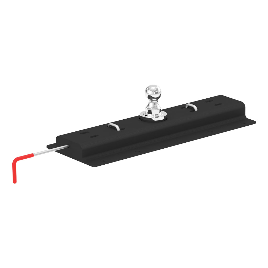 curt manufacturing curt double lock gooseneck hitch 60625. Black Bedroom Furniture Sets. Home Design Ideas
