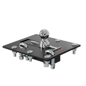 CURT Over-Bed Folding Ball Gooseneck Hitch #61052