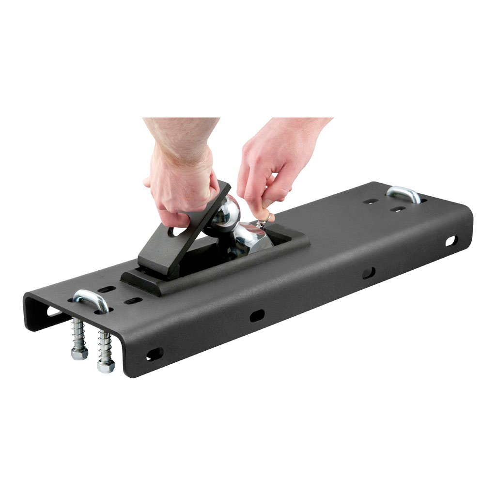 Curt Fifth Wheel Hitch >> CURT Manufacturing - CURT Under-Bed Folding Ball Gooseneck Hitch #61652